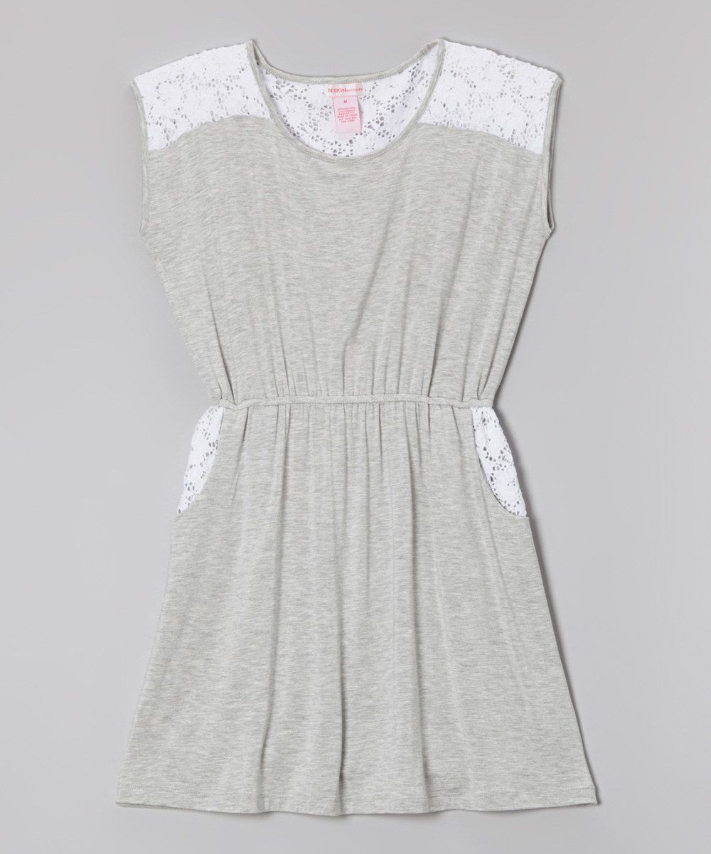 Look what i found on zulily design history heather gray u white