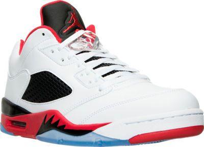cheap for discount e3d0d e8f2b Men s Air Jordan Retro 5 Low Basketball Shoes   Finish Line