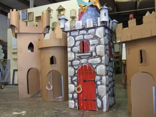 Search Images Cardboard Forts Cardboard Castle Paper City