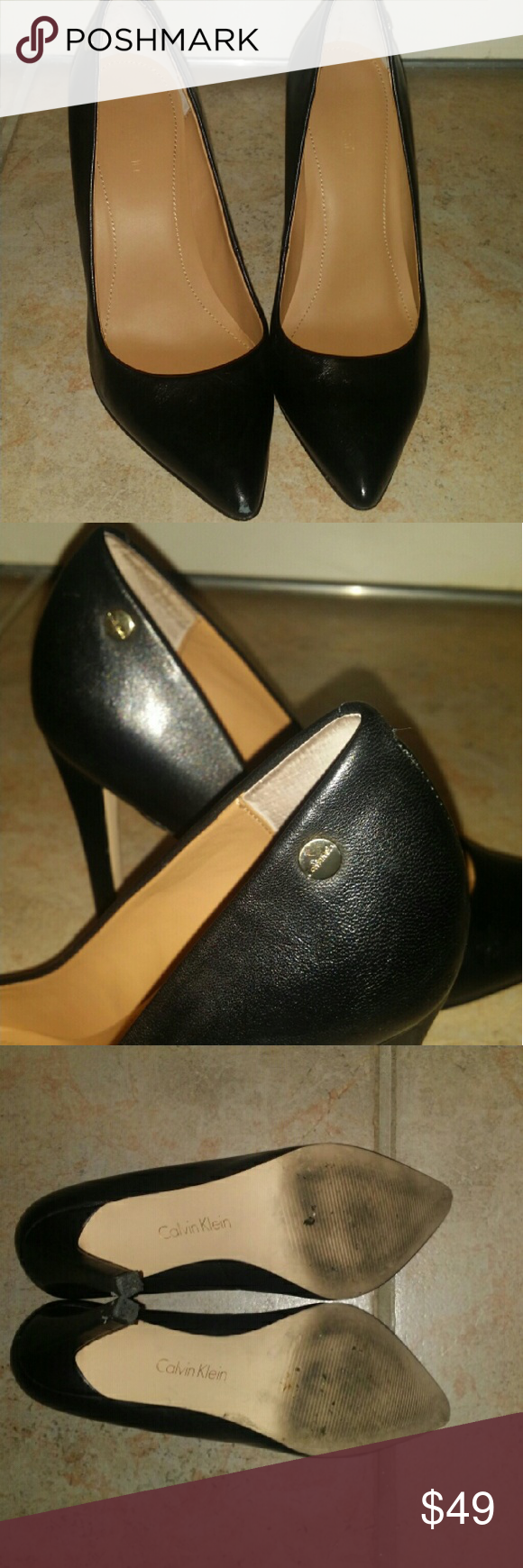 defadab298aa Calvin Klein Brady Pumps Heels - Size 6 Classic style never gets old. The
