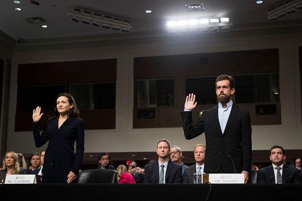 WASHINGTON, DC - SEPTEMBER 5 (L-R) Facebook chief operating officer