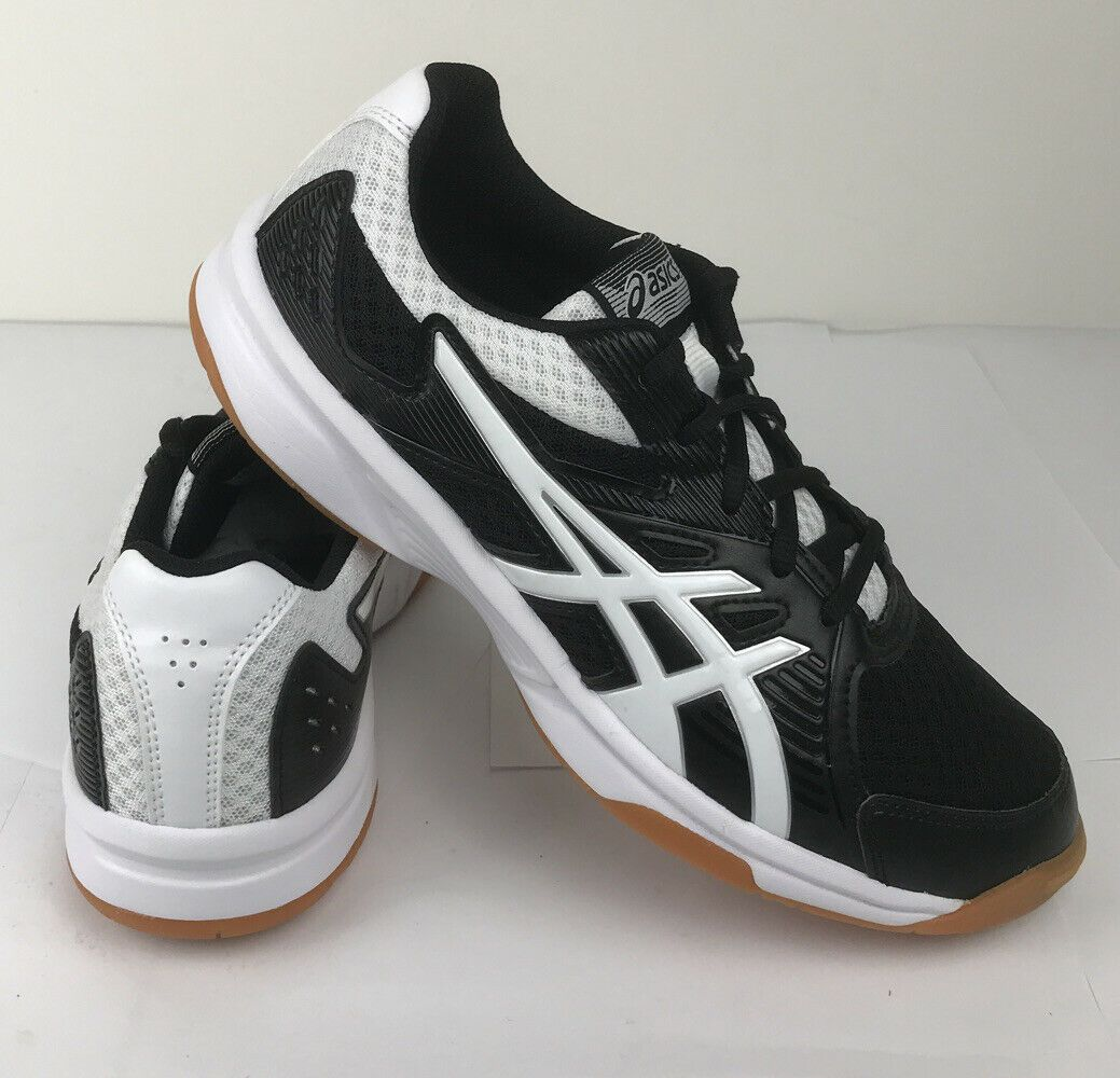 Asics Upcourt 3 Women S Shoes 8 Black White New Volleyball Shoes In 2020 Volleyball Shoes Walking Shoes Women Asics Running Shoes