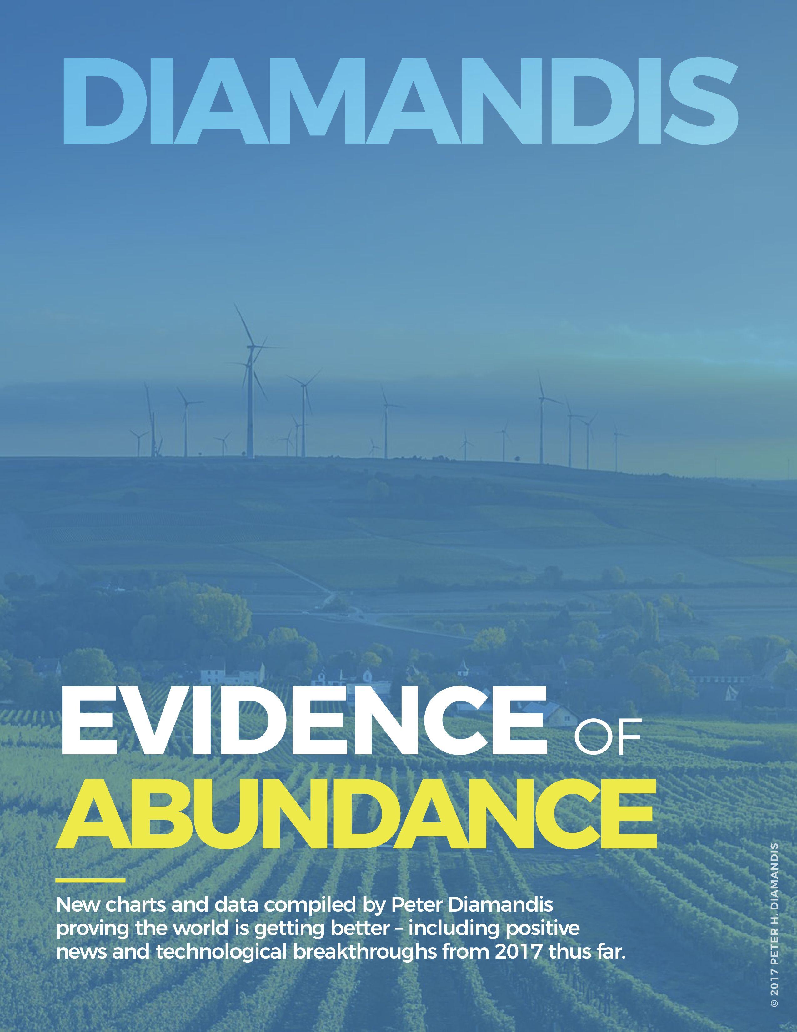 Peter diamandis evidence of abundance ebook positive