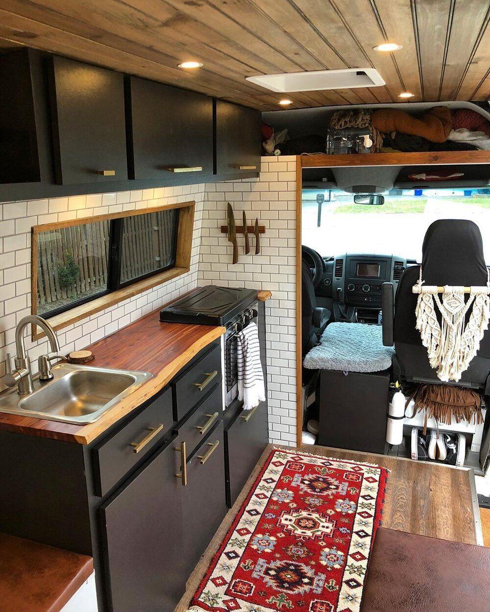 Creative Campervan Kitchen Ideas