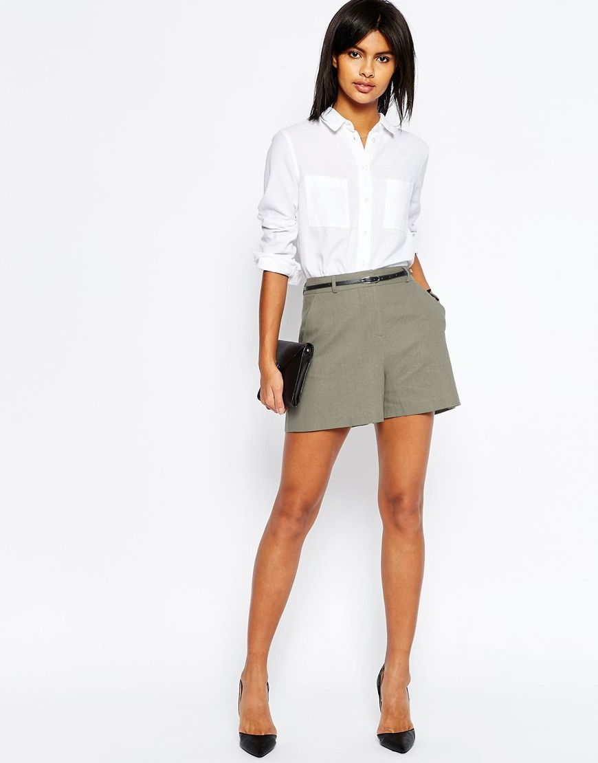 d938179cc7 Cute Tailored Shorts | street style. ♥ Fashion inspiration Women apparel | Women's  Clothes | Fashion | Style | Dresses | Outfits | #clothes #shoes #fashion ...