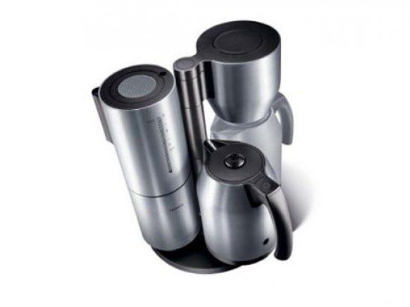 Erklärung: Thermoskanne und Kaffeemaschine von Porsche-Design ...