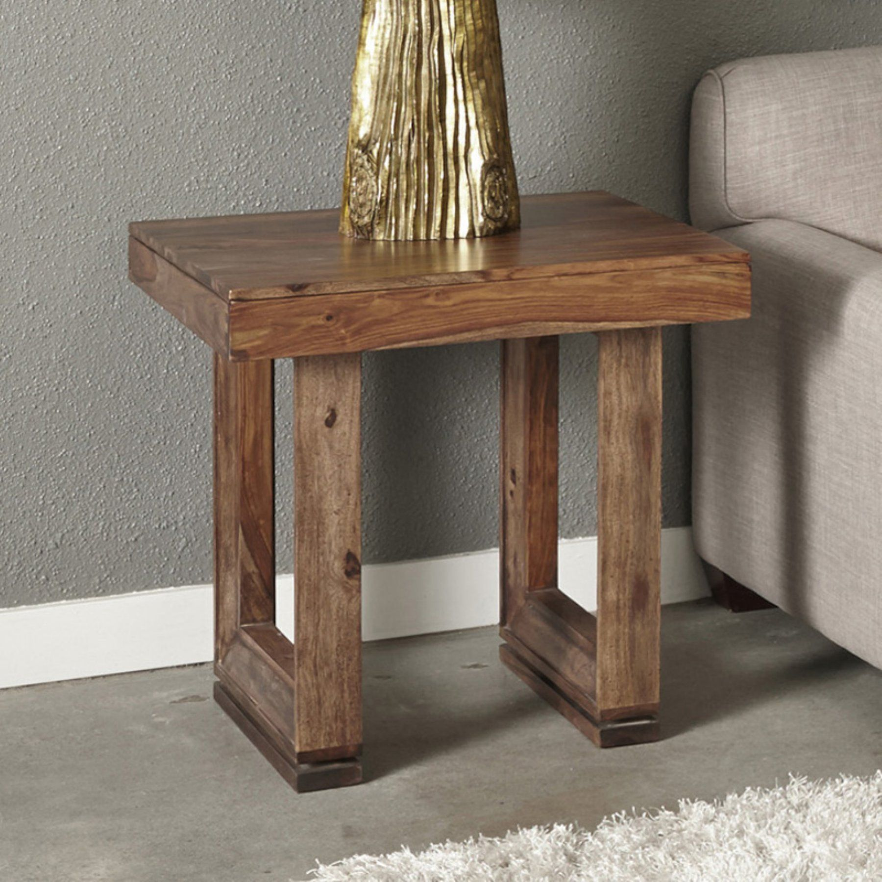 Coast to Coast Imports Brownstone End Table - 98238 | End ...