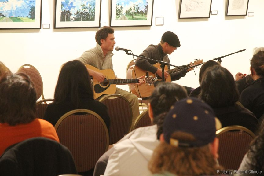 Music event in the North Gallery