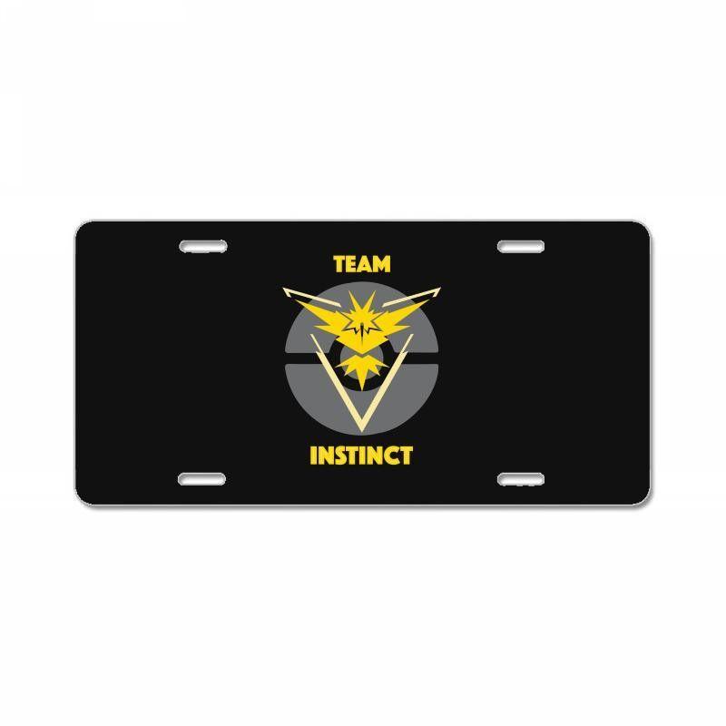 Team Instinct License Plate