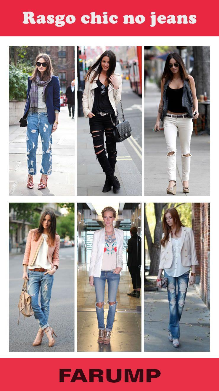 Está procurando por inspiração para montar um look chic, mas atual e moderno? Inspire-se no street style! As combinações de peças clássicas e fashion com o jeans rasgado são uma boa alternativa. Aposte!