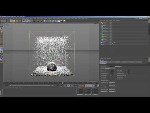 Xparticles 3 5 simualte snow in c4d free downloads (file) - YouTube