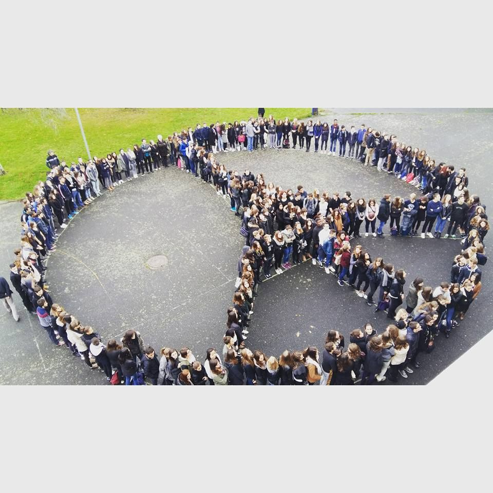 Lycée Europe-Schumann à Cholet, 17 novembre 2015