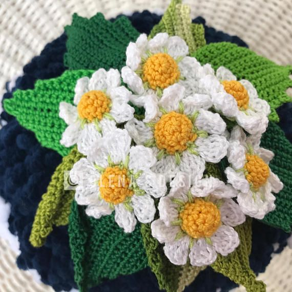 Crochet Tea Cozy Navy Blue Cover