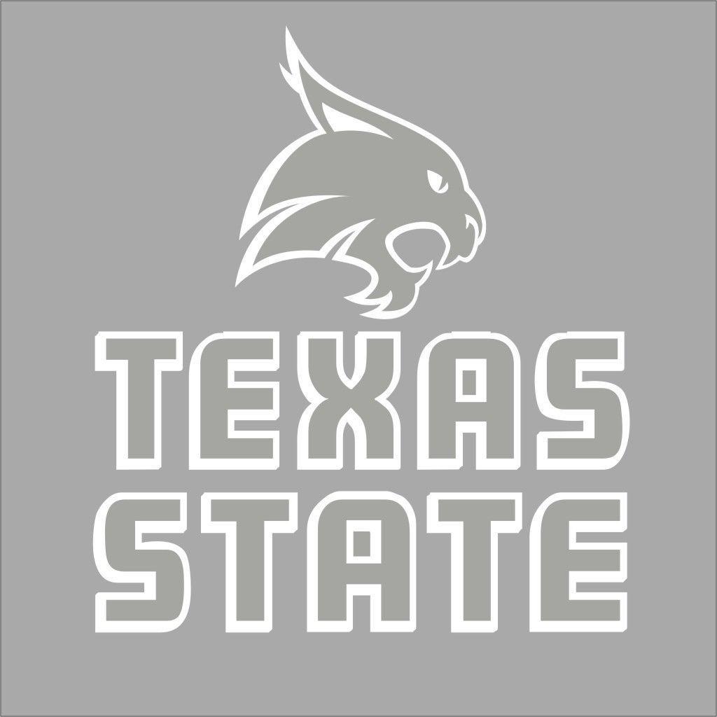 Texas State San Marcos 2 Bobcats College Logo 1c Vinyl Decal Sticker Car Window Vinyl Decal Stickers Vinyl Decals College Logo