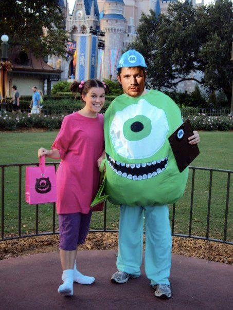 happy halloween - Monster Inc Halloween Costumes Boo