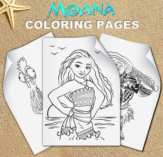 Moana Coloring Pages Moana Birthday Moana Party Vaiana Moana Coloring Pages Moana Coloring Moana Birthday