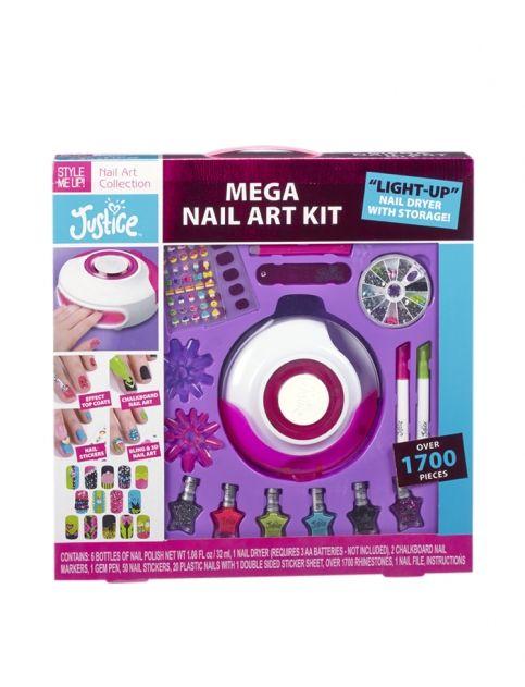 Mega Nail Art Kit Peace Love And Livvie Pinterest Nail Art