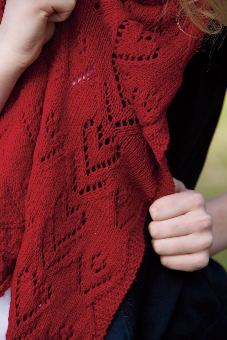 Sweetheart Valentine Scarf Pattern - Knitting Patterns and Crochet ...
