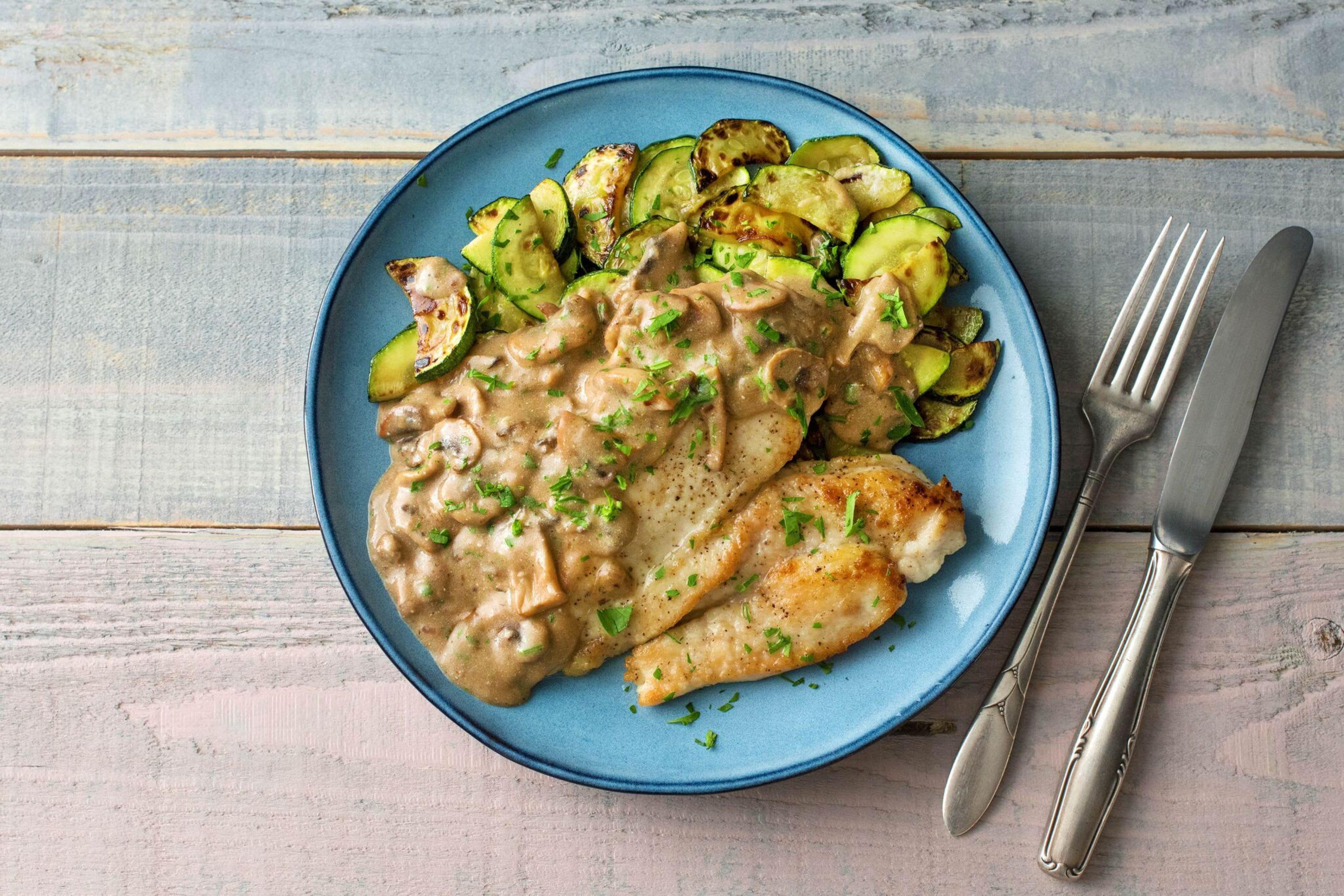 Chicken marsala recipe hellofresh recipe marsala