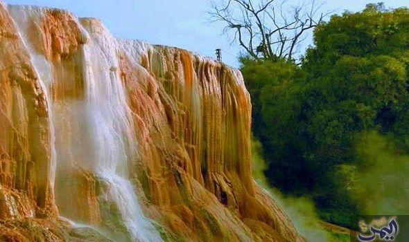 الشلال الساخن في الجزائر من أفضل الحمامات الصحية في العالم Instagram Waterfall Photo