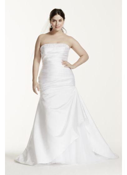 b9cff08b Long Mermaid/ Trumpet Formal Wedding Dress - David's Bridal Collection