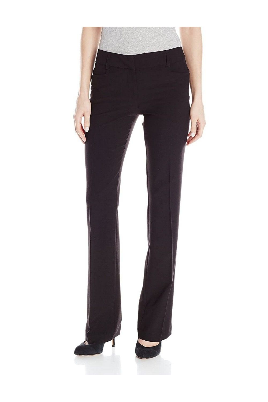 A Byer Women S Slight Bootcut Dress Pant Juniors In 2021 Pants Trouser Pants Dress Pant [ 1500 x 1000 Pixel ]