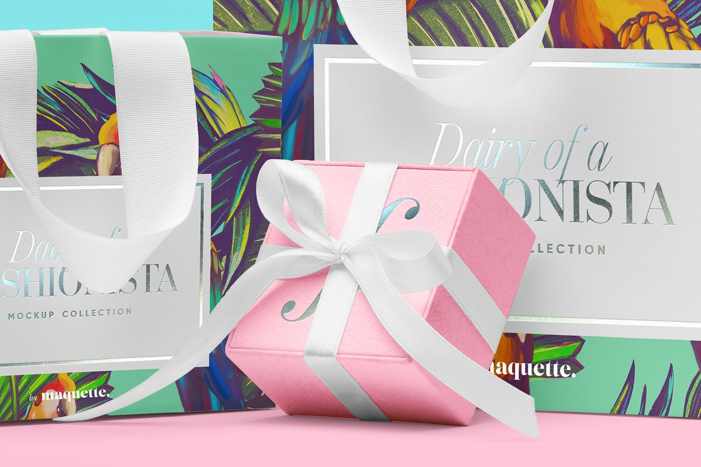 Shopping Bags Mockup on Behance