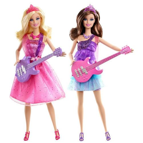 Barbie Rock N Royals Wallpaper: The Princess & The Popstar Tori And Keira Dolls