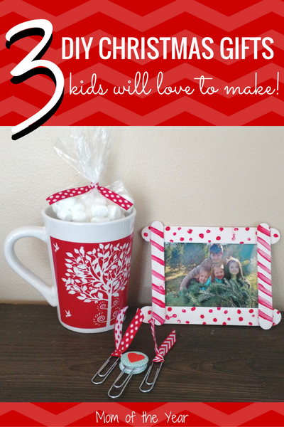 christmas budget already maxxed out no worries get your kids behind these easy fun diy holiday gifts the can make for their family and friends