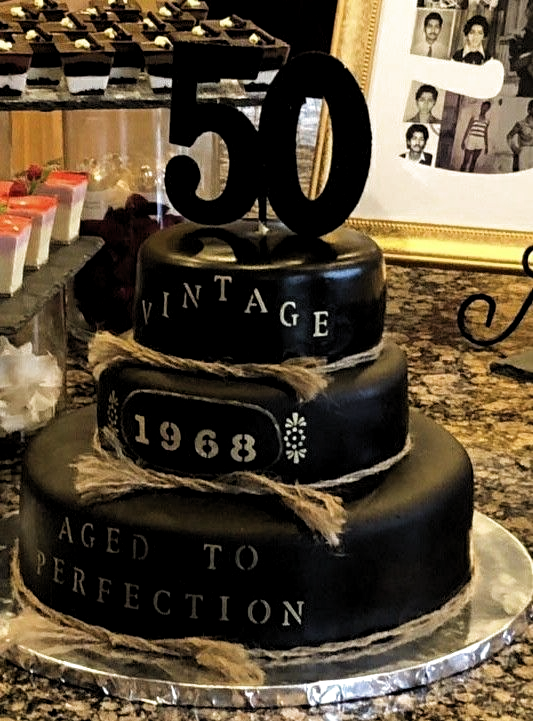 50th Birthday Cake 50th Birthday Cake City Cake Cake