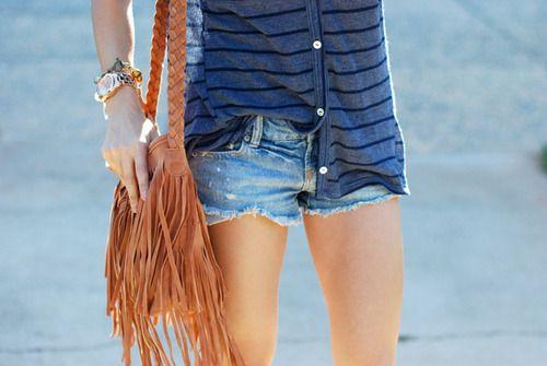 Fringe satchels.