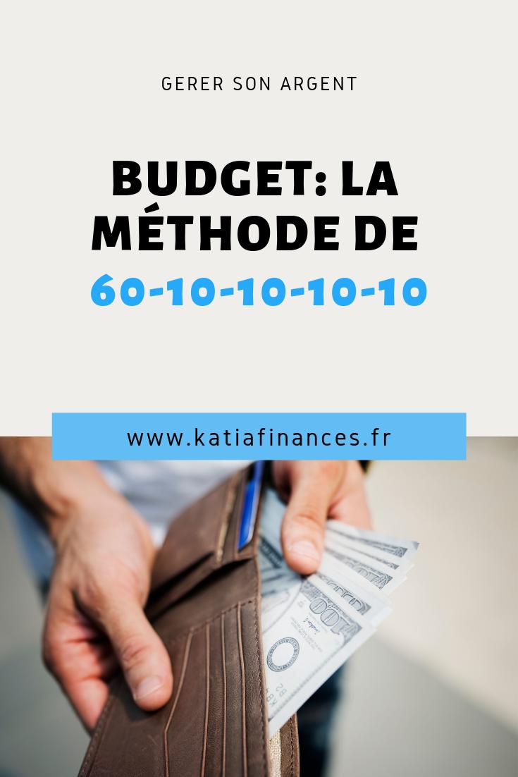 Budget La Methode De 60 10 10 10 10 Economiser De L Argent