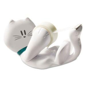 Cutest Kitty Ever! http://www.shoplet.com/Scotch-Kitty-Tape-Dispenser/MMMC39KITTY/spdv