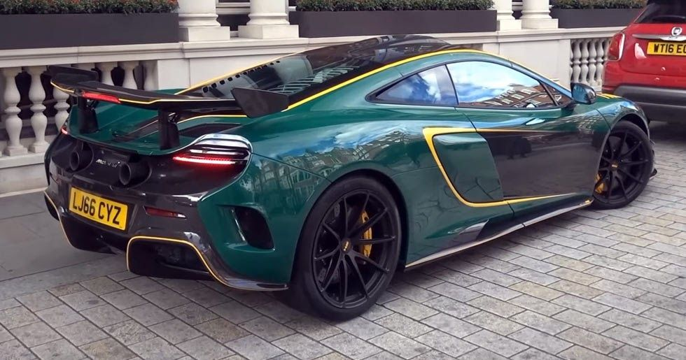 McLaren MSO HS Makes For A Rare Sighting In Central London [w/Video ...