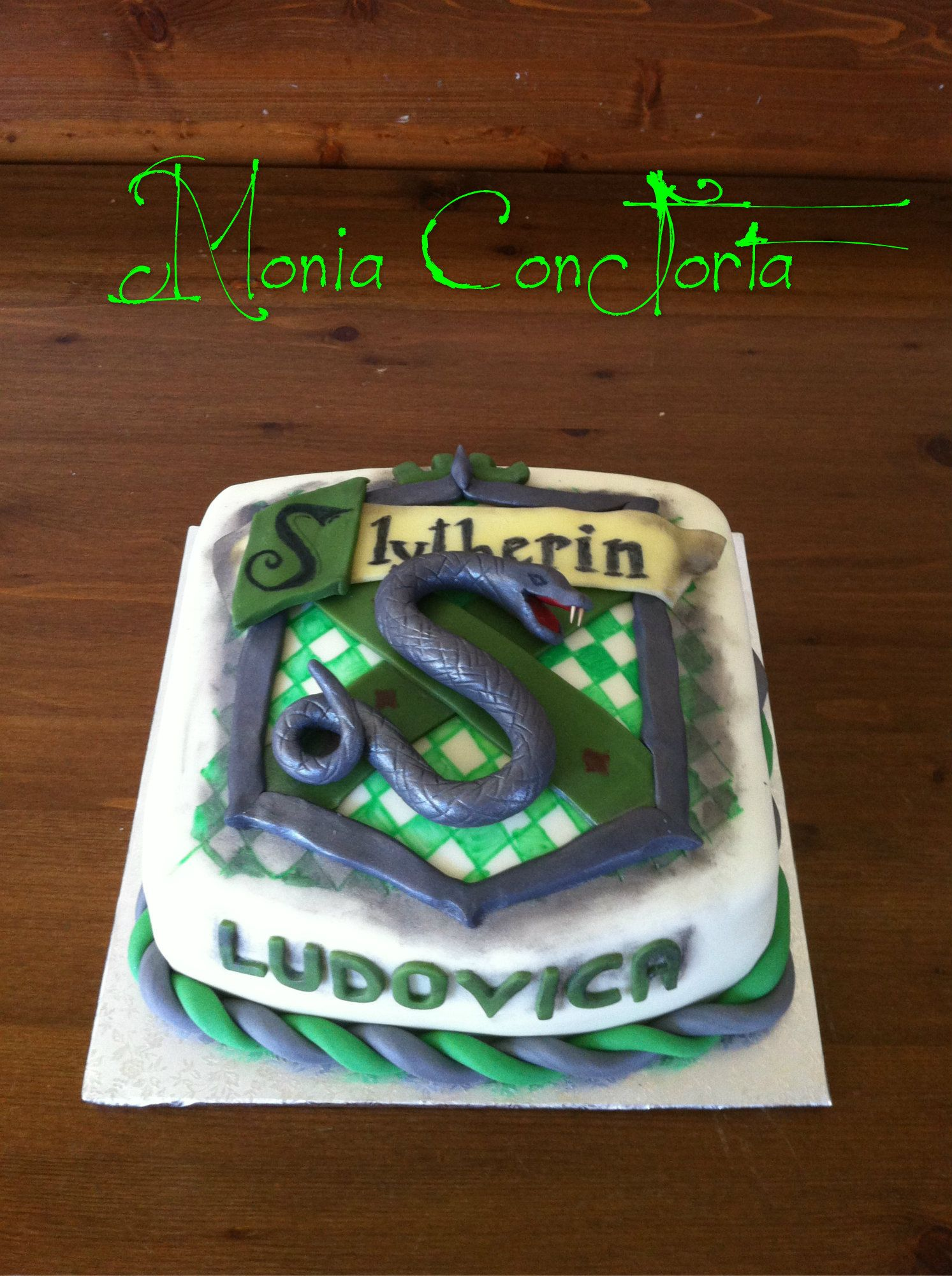 Serpeverde Slytherin By Harry Potter Flewpowder Compleanno