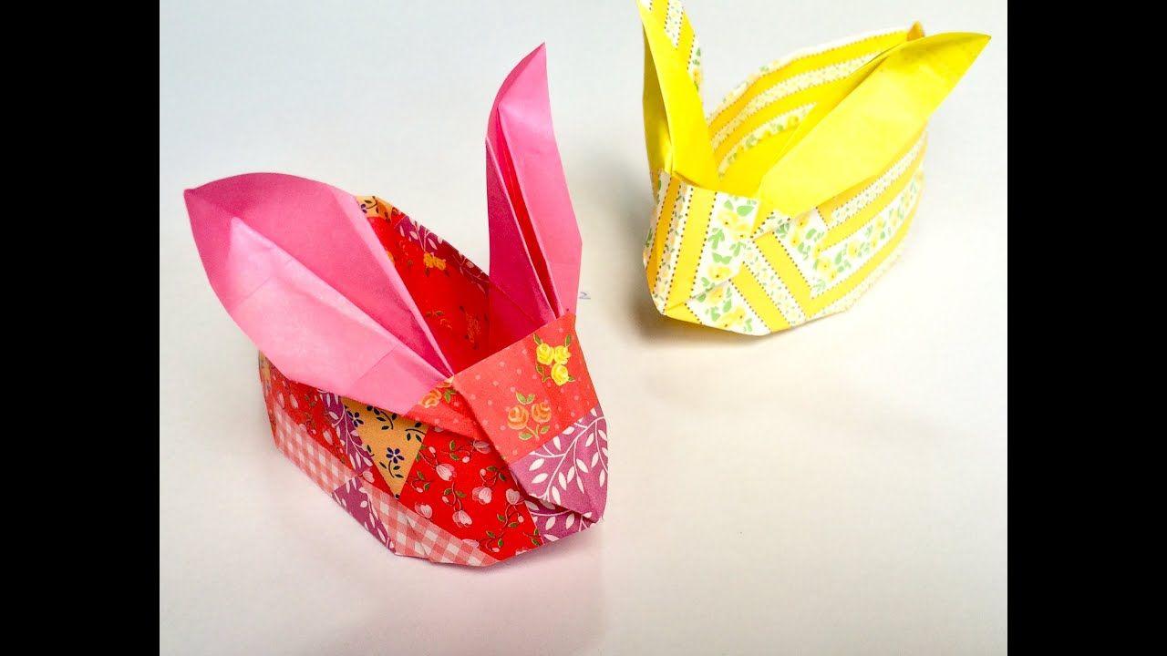 DIY Origami (Modular) Regenbogen Osterei Geschenk zu Ostern ... | 720x1280