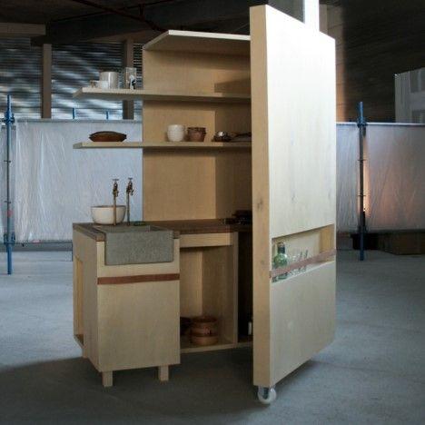 Keuken cabinet by Johanneke Procee