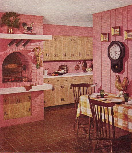Paint the old paneling!  Sherwin-Williams  Home Decorator Booklet  1961 Edition