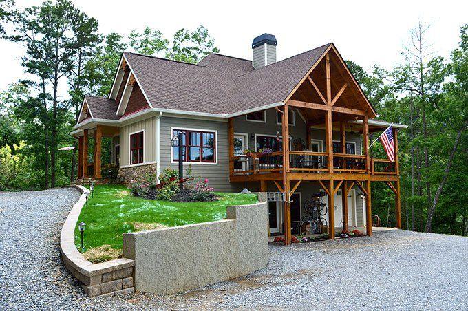 lake wedowee creek reatreat is a lake house plan designed for lake wedowee in alabama