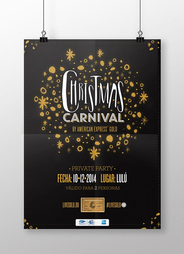 Christmas Carnival Poster.Christmas Carnival Poster By Yermine Richardson For American