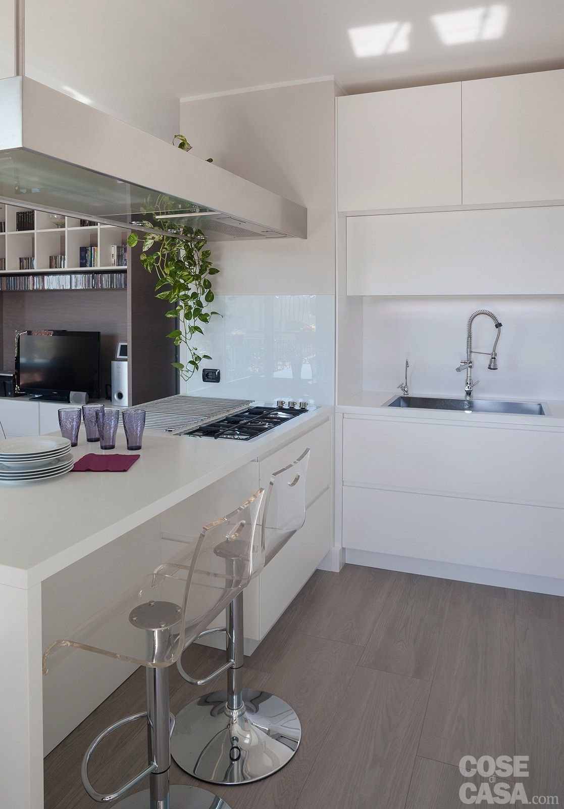 suddivisioni ottimizzate per la casa di meno di 100 mq