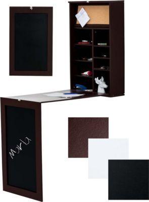 Wand Klapptisch Mit Tafel MARLA, Für Die Küche, Holz Schreibtisch, B Ware,  Platzwunder Für Kleine Räume Jetzt Bestellen Unter: ...