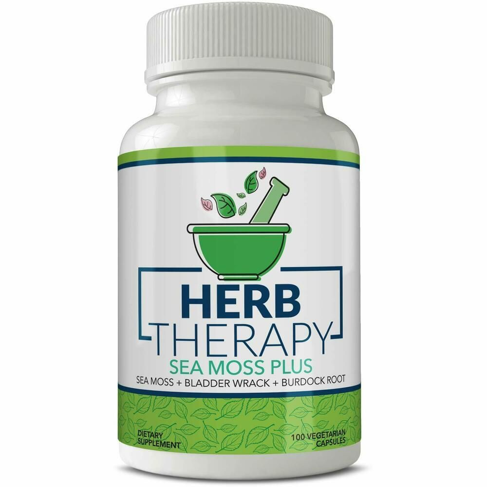 Herb Therapy Sea Moss Plus 100 Capsules 1500mg Irish Sea Moss Dr sebi Alkaline.. #HerbTherapy #irishsea Herb Therapy Sea Moss Plus 100 Capsules 1500mg Irish Sea Moss Dr sebi Alkaline.. #HerbTherapy #irishsea