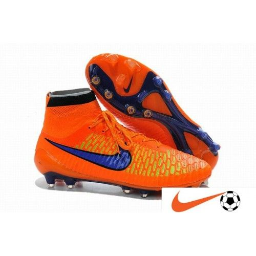 Vente Nike Magista Obra FG Hyper Orange Violet Noir Homme Chaussure De Foot  - Nike Magista 106f6e140c2e