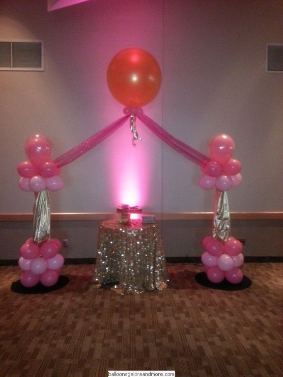 Indian Birthday Parties and Cradle Ceremony Decorations by Balloons .