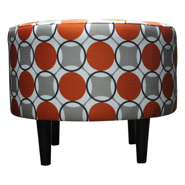 round sophia halo ottomansole designs | more ottomans and