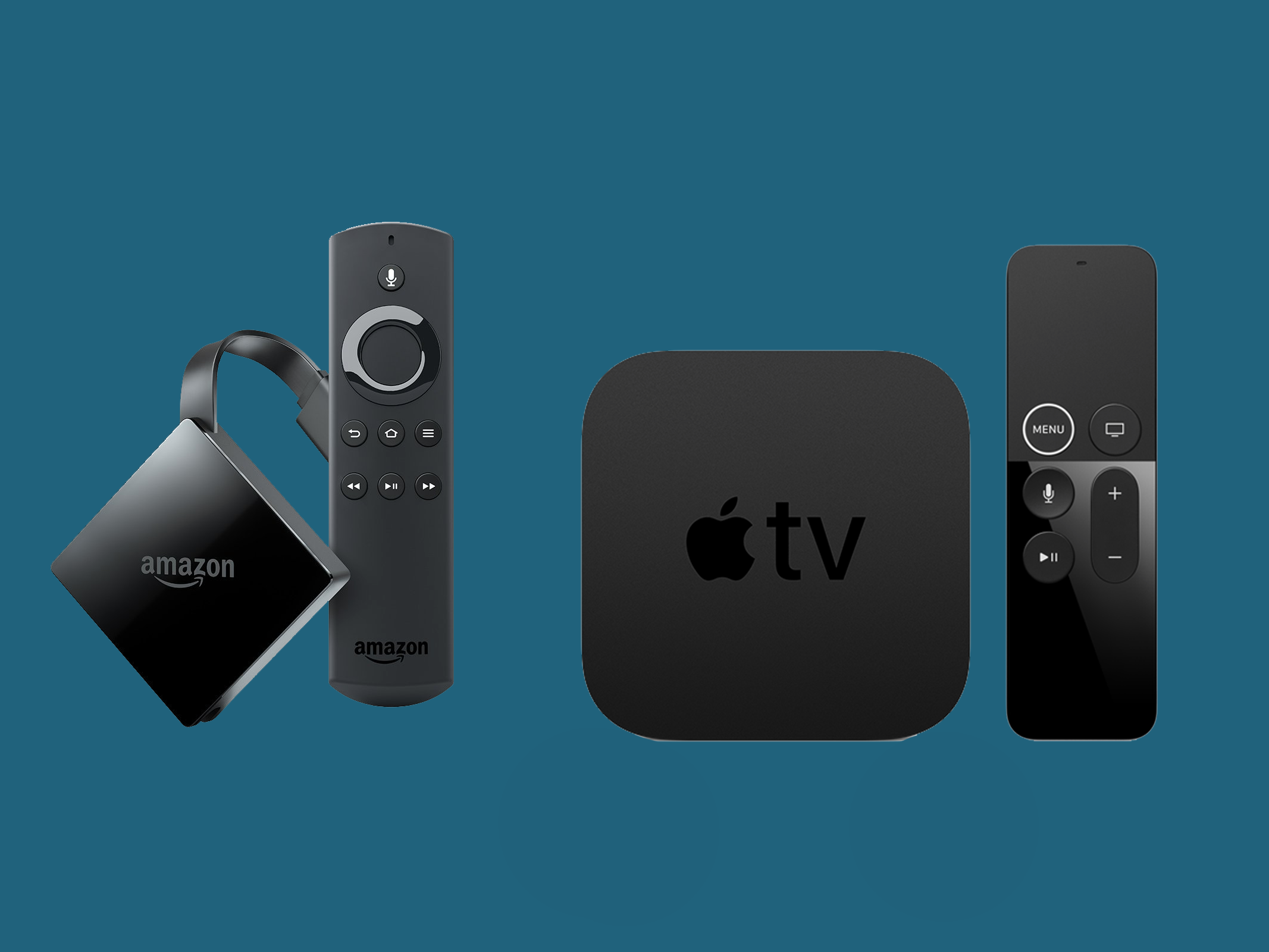 Here's how Amazon's Fire TV with 4K stacks up to the Apple