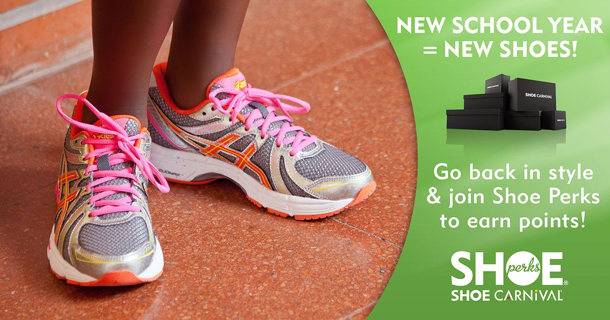 961e116c3b87e3 New School Year   New Shoes. Go back to school in style and earn rewards!