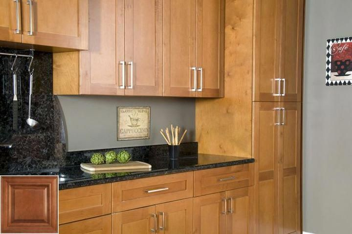 Merits of - honey oak cabinets white appliances. #honeyoakcabinets