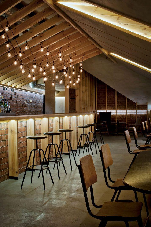 the attic bar by inblum architects in minsk belarus jaw dropping rh pinterest com